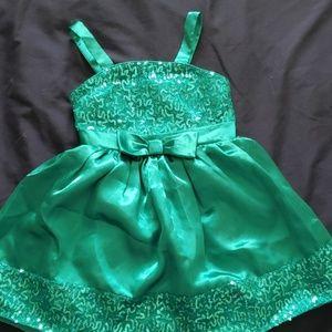 George toddler girls dress.  Size 4. Teal aqua